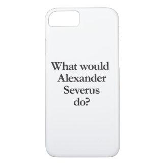 qué severus de alexander haría funda iPhone 7