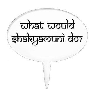 ¿Qué Shakyamuni haría? Figura De Tarta