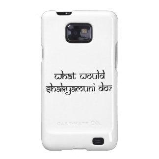 ¿Qué Shakyamuni haría? Samsung Galaxy SII Carcasas