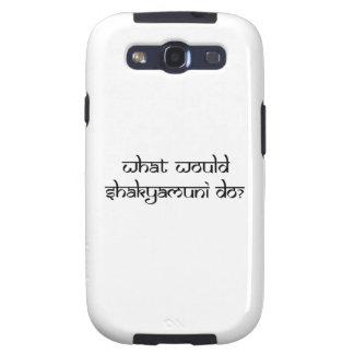 ¿Qué Shakyamuni haría? Samsung Galaxy S3 Fundas