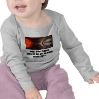 ¿Qué si podríamos aprovechar el viento solar para Camisetas