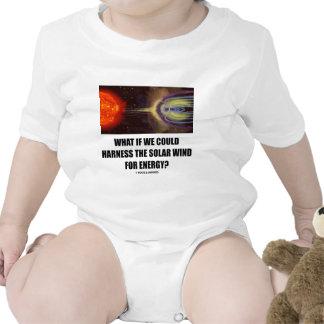 ¿Qué si podríamos aprovechar el viento solar para Traje De Bebé