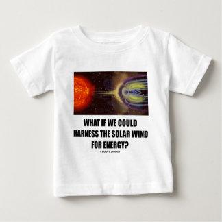 ¿Qué si podríamos aprovechar el viento solar para Playera Para Bebé