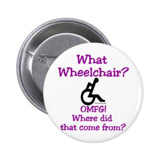 Qué silla de ruedas pin redondo 5 cm