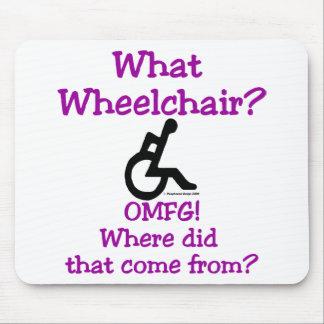 Qué silla de ruedas alfombrilla de ratón