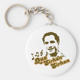 Que Sirhan Sirhan Keychain