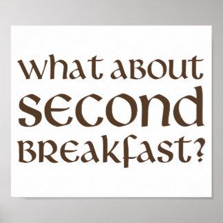 Qué sobre el segundo desayuno póster
