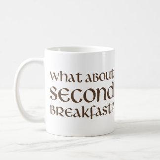 Qué sobre el segundo desayuno taza básica blanca