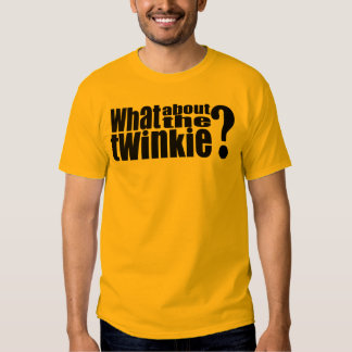 Qué sobre la camiseta de Twinkie Remera