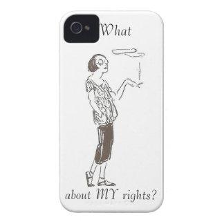 Qué sobre las MIS derechas?: Caja de Blackberry de Case-Mate iPhone 4 Funda