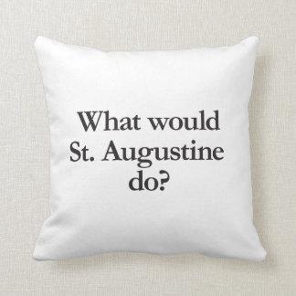 qué St Augustine haría Cojín