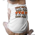Qué sucede camiseta del perro del parque del perro camisa de mascota
