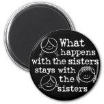 Qué sucede con las hermanas iman para frigorífico