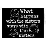 Qué sucede con las hermanas tarjeton