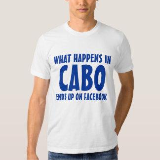 Qué sucede en Cabo termina para arriba en Facebook Playera