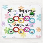 Qué sucede en el bingo alfombrilla de ratón