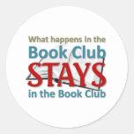 Qué sucede en el círculo de lectores etiquetas redondas