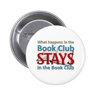 Qué sucede en el círculo de lectores pin redondo 5 cm