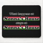 Qué sucede en el fondo del negro de la casa de Non Alfombrillas De Raton