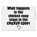 Qué sucede en el gallinero de pollo felicitacion