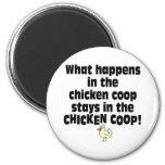Qué sucede en el gallinero de pollo imán de frigorifico