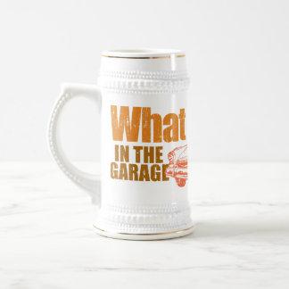 Qué sucede en el garaje, permanece en el garaje MU Jarra De Cerveza
