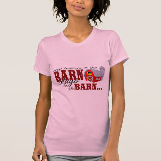 Qué sucede en el granero… camisetas