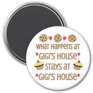 Qué sucede en el imán de la casa de GiGi