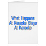 Qué sucede en el Karaoke Tarjeton