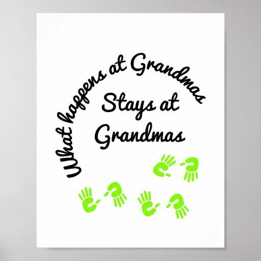 Qué sucede en el poster de las abuelas
