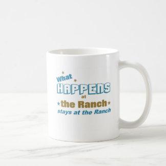 Qué sucede en el rancho taza