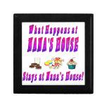 Qué sucede en el rosa de la casa de Nanas Caja De Joyas