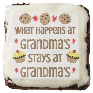 Qué sucede en la abuela