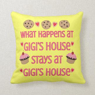 Qué sucede en la almohada de tiro de la casa de Gi