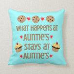 Qué sucede en la almohada del tiro de la tía