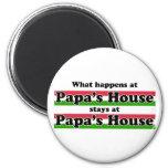 Qué sucede en la casa de las papás imanes