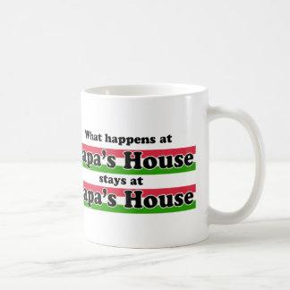 Qué sucede en la casa de las papás taza de café