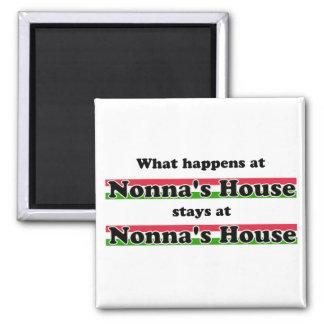 Qué sucede en la casa de Nonna Imán Cuadrado