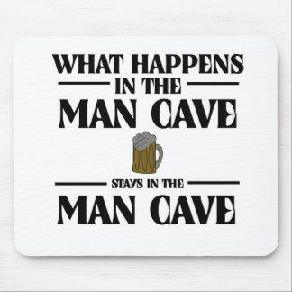 Qué sucede en la cueva del hombre, permanece alfombrilla de raton