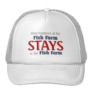 Qué sucede en la granja de pescados gorras
