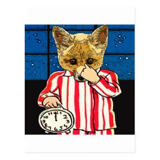 Qué sucede en la medianoche tarjetas postales