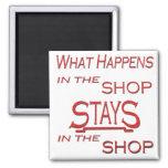 Qué sucede en la tienda iman