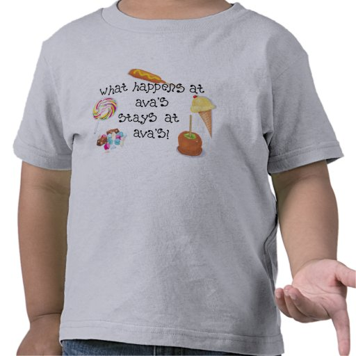 ¡Qué sucede en las ESTANCIAS de Ava en Ava! Camisetas