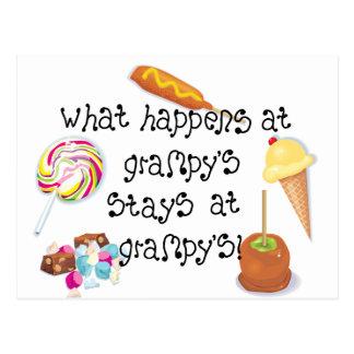 ¡Qué sucede en las estancias de Grampy en Grampy! Postales