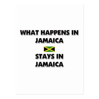 Qué sucede en las estancias de JAMAICA allí Postales