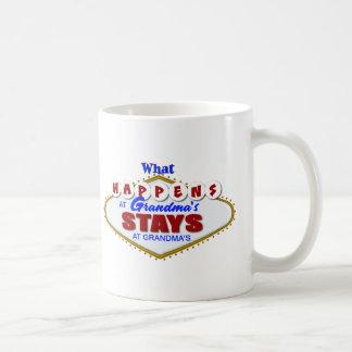 Qué sucede en las estancias de la abuela en los taza de café