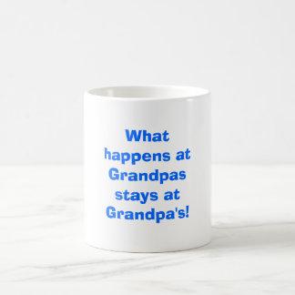 ¡Qué sucede en las estancias de los abuelos en el Taza Mágica