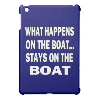 Qué sucede en las estancias del barco en el barco
