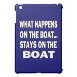 Qué sucede en las estancias del barco en el barco  iPad mini protectores