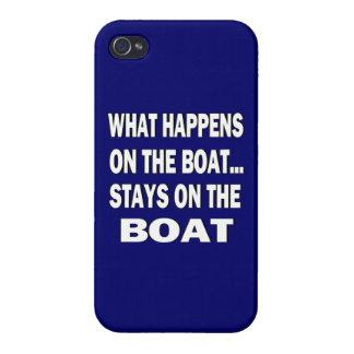 Qué sucede en las estancias del barco en el barco iPhone 4 carcasa